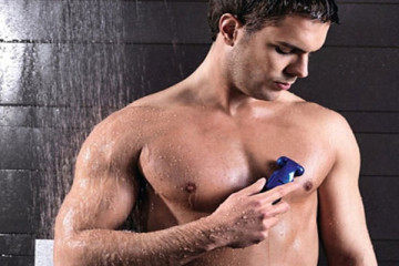 Men's body groomer