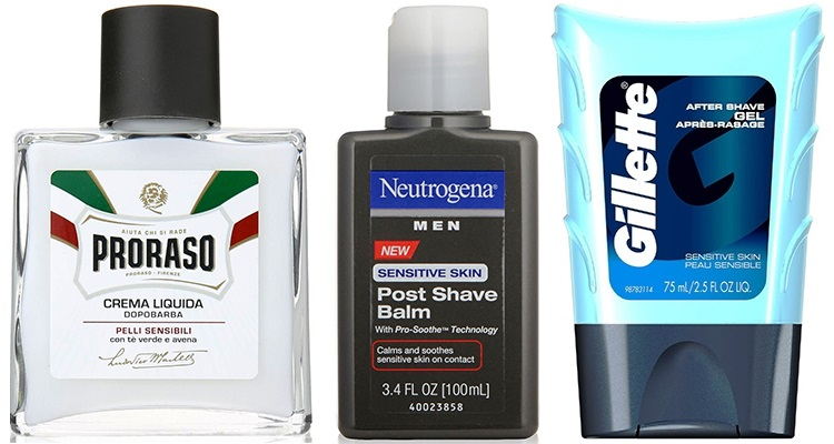 aftershave for sensitive skin