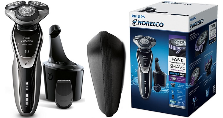 Philips Norelco Electric Shaver 5700 Wet & Dry, S5370/84