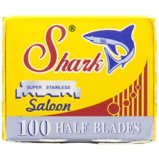 00 Shark Super Stainless Straight Edge Barber Razor Blades