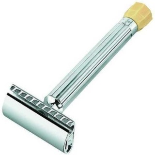 MERKUR Progress Adjustable 2-Piece Double Edge Saftey Razor
