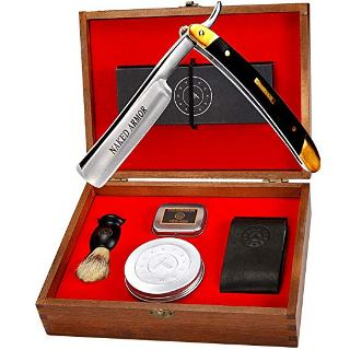 Naked Armor Japanese STRAIGHT RAZOR KIT