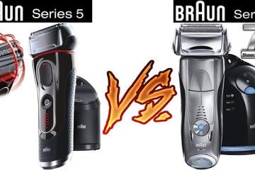 Braun 5 Series vs Braun Series 7