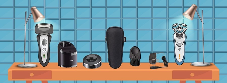 Accessories of electric shaver
