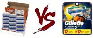 Gillette Fusion vs Fusion5: Review & Comparison