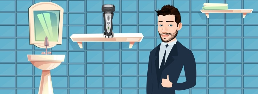 Keep the shaver in a dry place
