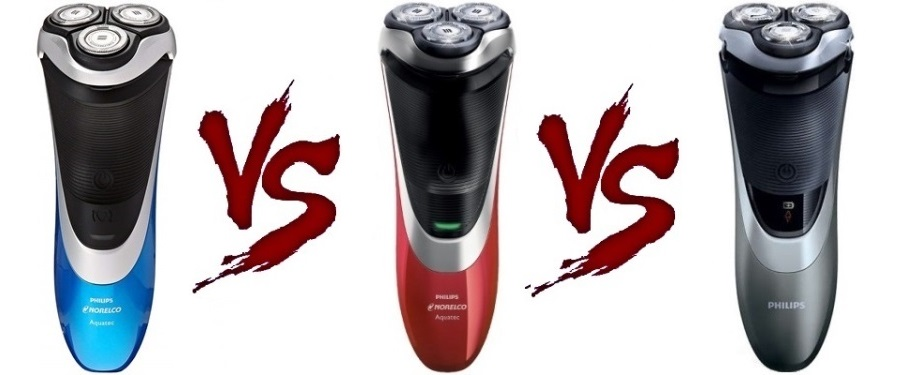 Philips Norelco electric shaver 4100 vs 4200 vs 4500