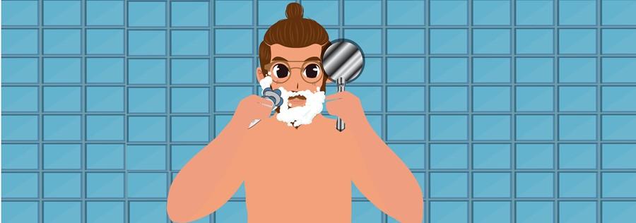 Try Using Gel Or Foam-Start Shaving