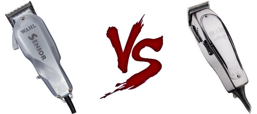 Wahl Senior vs Andis Master