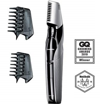 Panasonic Electric Body Hair Trimmer and Groomer for Men ER-GK60-S