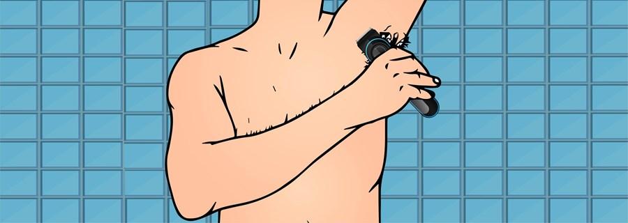 Step 5- Trim Your Armpits