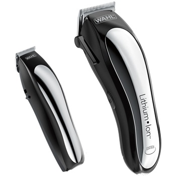 Wahl Clipper Lithium Ion Cordless Haircutting & Trimming Combo Kit Model 79600-2101