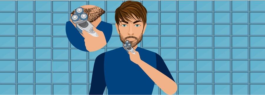 Step 4- Check Shaver, Choose Setting