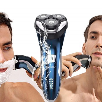 SweetLF 3D Rechargeable Waterproof IPX7 Electric Rotary Shaver