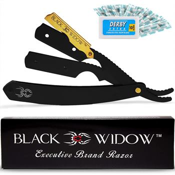 Black Widow Barber Straight Razor