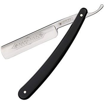 "Dovo Full Hollow Carbon Steel 5/8"" Straight Razor"