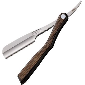 FEATHER Artist Club SS Scotch Wood Folding Straight Razor