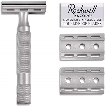 Rockwell Razors 6S Stainless Steel Adjustable Double Edge Safety Razor