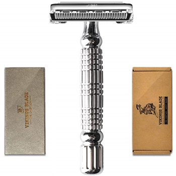 VIKINGS BLADE The Chieftain Double Edge Safety Razor