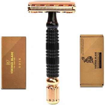 VIKINGS BLADE The Chieftain ODIN Double Edge Safety Razor