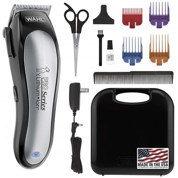WAHL Lithium Ion Pro Series Cordless Animal Clippers Model 9766