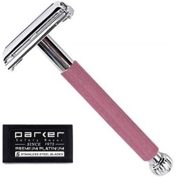 Parker 29L Long Handle Women's Double Edge Safety Razor