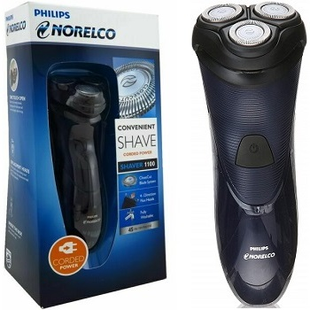 Philips Norelco Corded Electric Shaver 1100, S1150/81