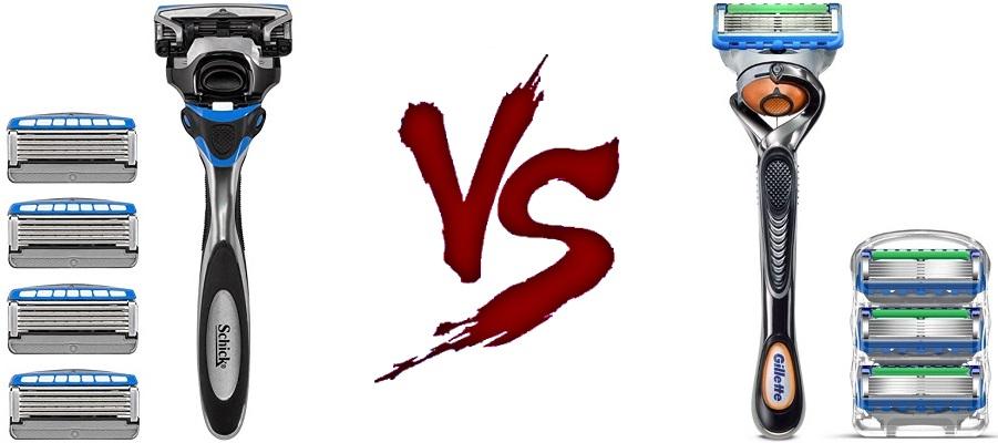 Schick vs Gillette