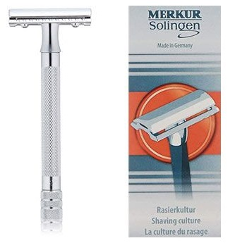 MERKUR Classic 3-Piece Razor Double Edge Safety Razor