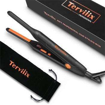 Terviiix Small Flat Iron for Short Hair
