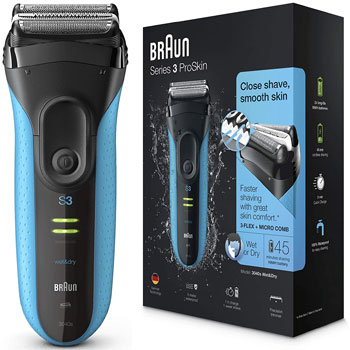 Braun Electric Razor for Men, Series 3 3040s