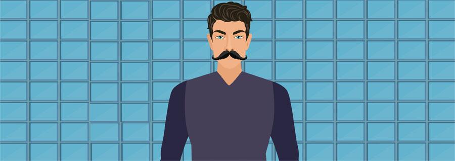Hungarian Handlebar Mustache