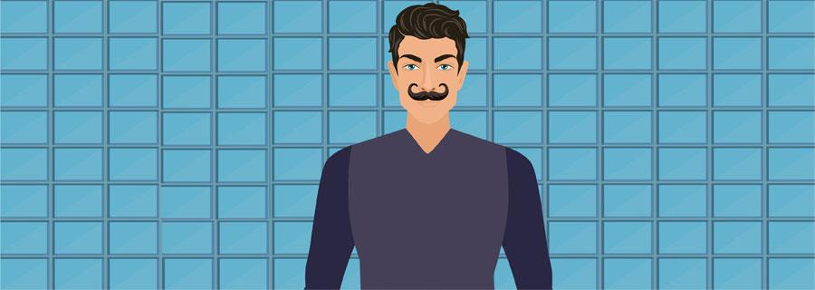 Imperial Handlebar Mustache