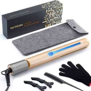 NITION Professional Salon Hair Straightener