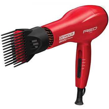 Kiss Products Red Detangler Dryer
