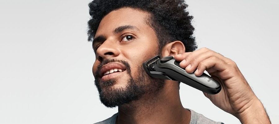 How to trim a patchy beard