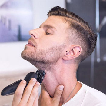 Steps to shaving your neck properly