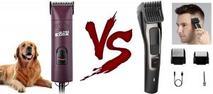 Dog clippers vs human clippers